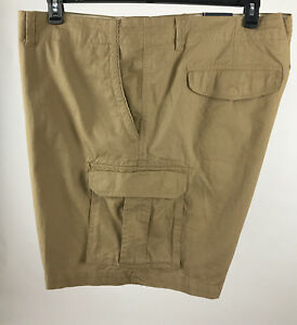 9643887f Tommy Hilfiger Mens Khaki Big and Tall Classic Fit Chino Cargo ...