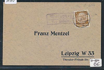 PüNktlich 91485 Ds 1938 Um Jeden Preis Dr > Ddr Landpost Ra2 Wernburg über Pößneck