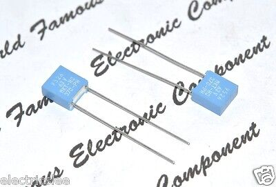 10pcs - PHILIPS MKT370 0.22uF (0,22µF 220nF) 63V 5% P:5mm Film Capacitor