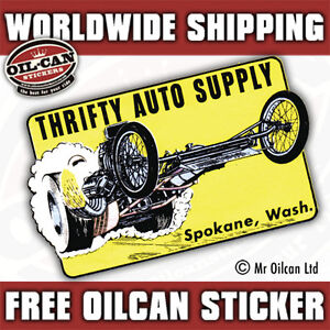 Image Is Loading Thrifty Auto Supply Vintage Repro Hotrod Decal Sticker