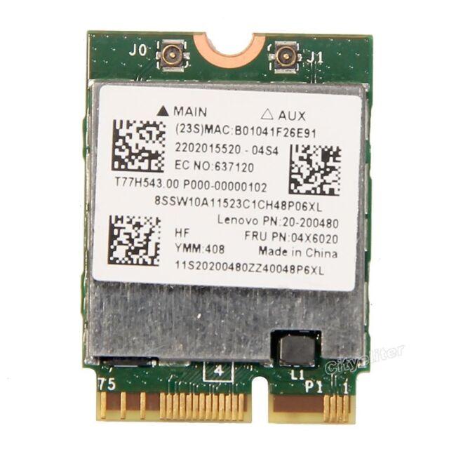 Broadcom BCM94352Z NGFF Dual Band 802.11ac 867M Wifi BT 4.0 Lenovo FRU 04X6020