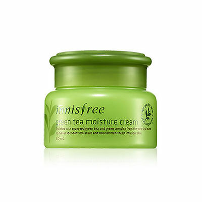 [Innisfree] GREEN TEA MOISTURE CREAM 50ml