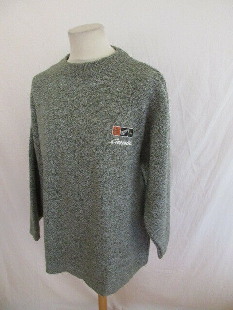 Pull de rugby vintage Cambé green size XL