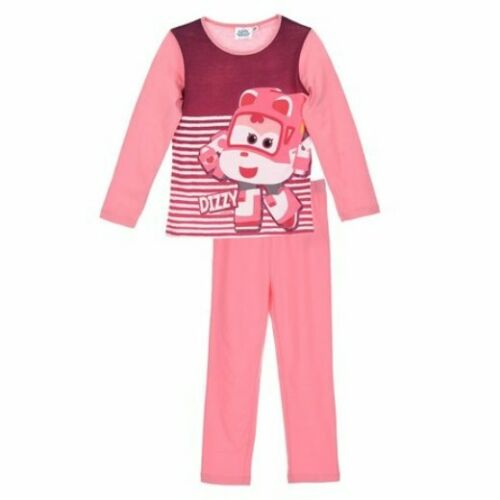 Girls Official Character Super Wings DIZZY Long Sleeve Pyjamas 3,4,5,6 New