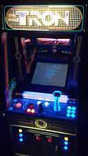 Original TRON Video Arcade Game Converted to Lit SuperCade!  3 year Warranty!!!