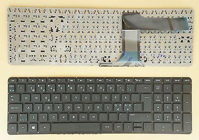for HP 17-f071no 17-f072no 17-f074no 17-f075no 17-f076no Keyboard Nordic Black