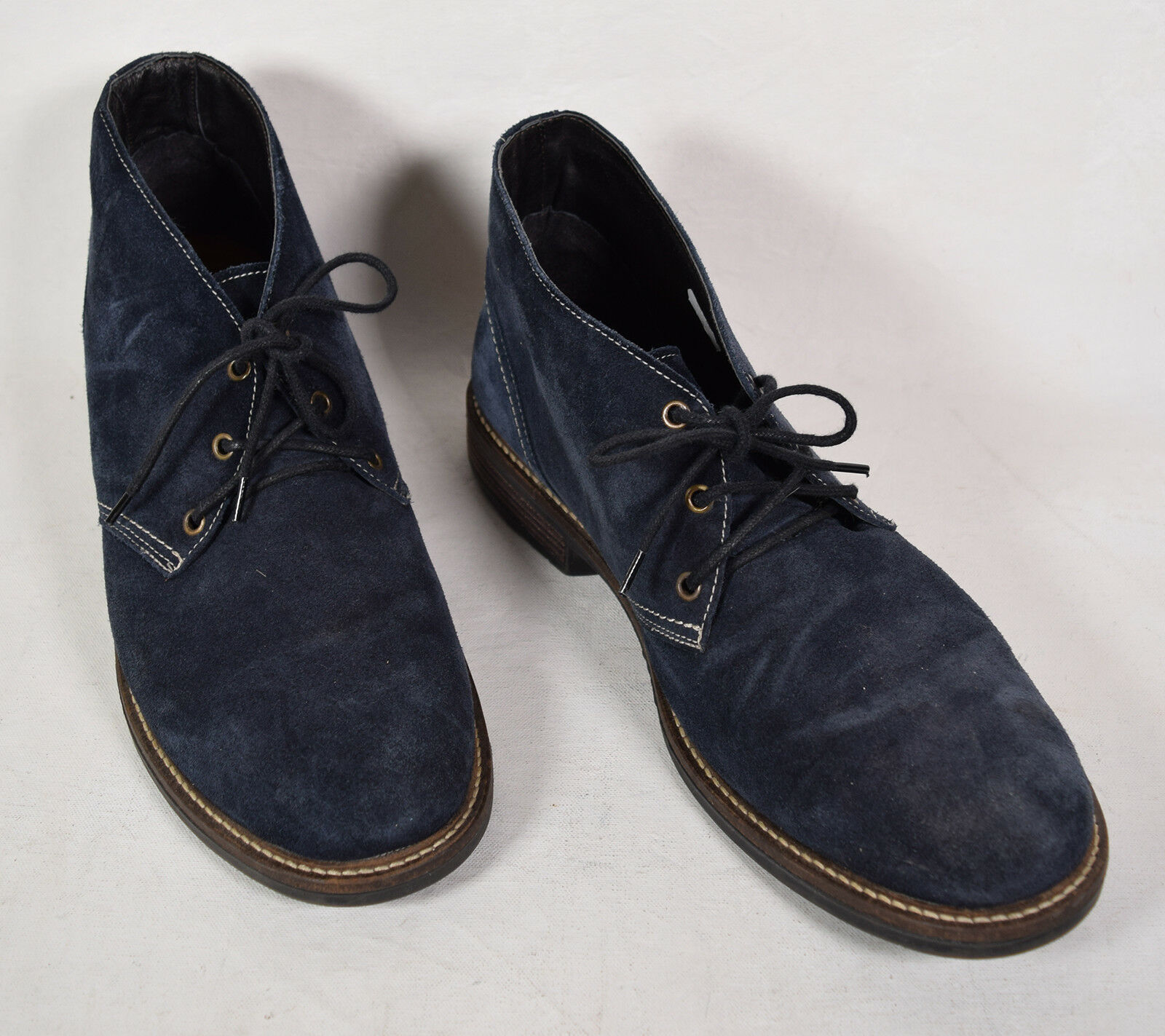 Naot Footware navey azul Suede Chukka Bota EE. UU. 13