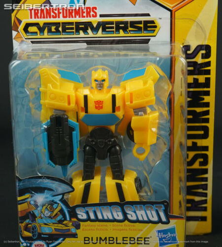 Sting Shot BUMBLEBEE Transformers Cyberverse Scout Class Hasbro 2018 NEW Ages 6+