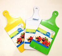 Pillsbury Plastic Cutting Board With Handle & Hole To Hang - 3 Colors