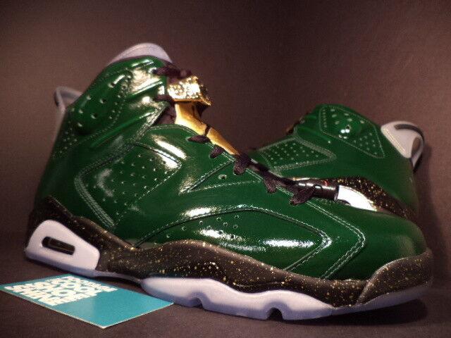 Nike air jordan champagne vi 6 retr campionato champagne jordan pine, verde, rosso oro nero 10,5 bff7af