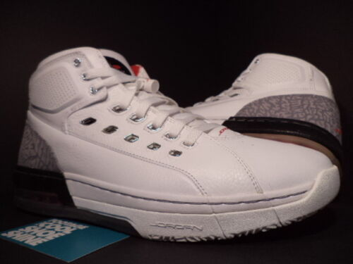 Red Nike Fire Black Ds 2007 White Air Grey 11 317223 101 Ol'school Jordan Cement 8nkOXN0wP