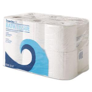 Boardwalk-Office-Packs-Toilet-Tissue-2-Ply-White-4x4-Sheet-300-Sheets-Roll-72