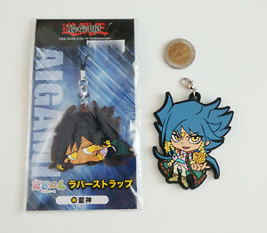 Yu-Gi-Oh-Keychain-rubber-phone-strap-Aigami-Diva-DSOD-dark-side-of-dimensions