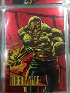 Marvel-Universe-Card-Red-Foil-Tiger-Wylde