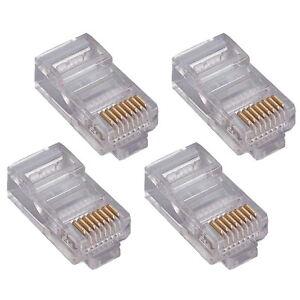 10x-RJ45-8P8C-Netzwerkstecker-UTP-zum-crimpen-LAN-DSL-Netzwerk-Paket-10-Stuck
