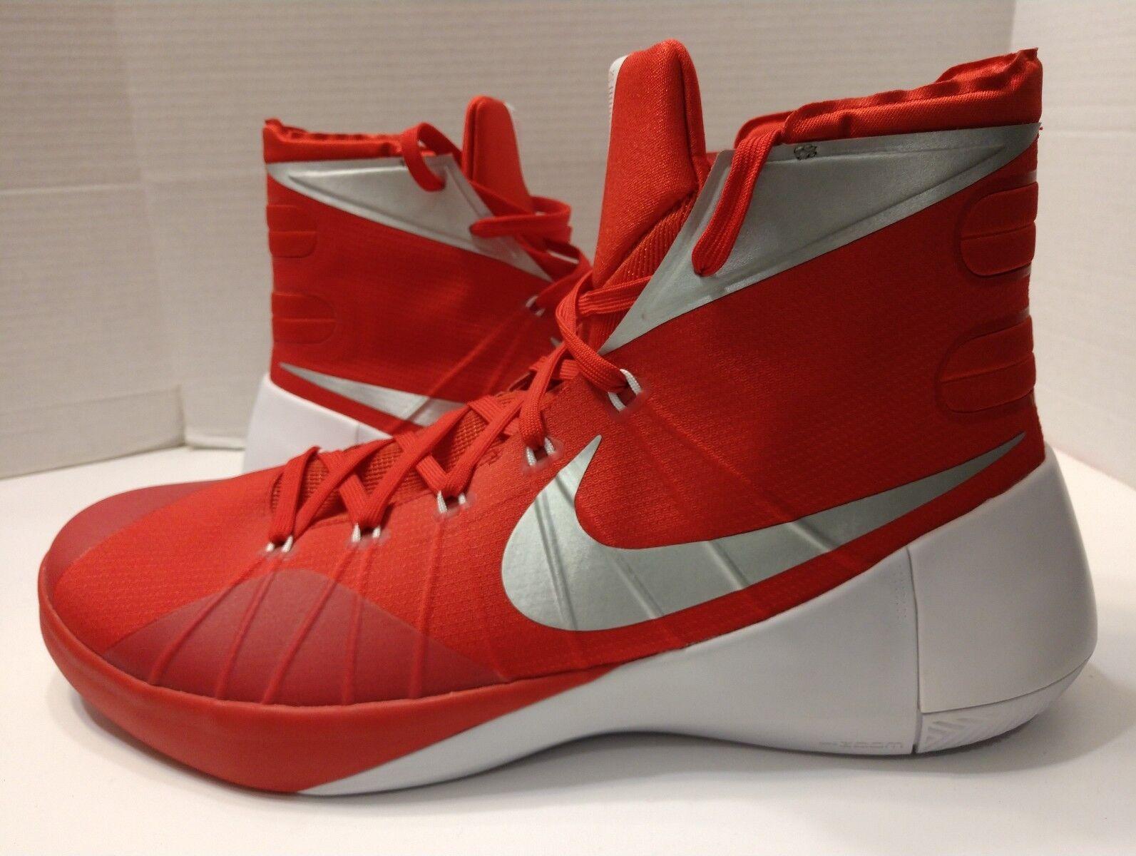 Nike Hyperdunk 2018 Basketball Shoes Red Metallic USA 812944-601 Men's Comfortable