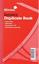 Silvine Invoice Duplicate Book Numbered 1-100