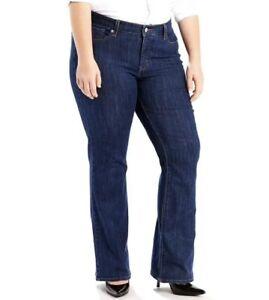 Levis-Woman-Plus-Sz-20W-M-415-Classic-Fit-Bootcut-Jeans-Stretch-Denim-Pants-60