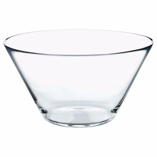 Trygg conique en verre clair Serving Bowl Diamètre 28 cm Affichage Bol IKEA