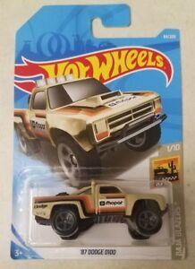 Hot Wheels 2019  ´87 DODGE D100    64//250   NEU/&OVP