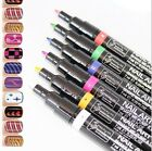 16 Colors Nail Art Pen Polish Painting Drawing UV Gel Manicure Tools DIY Design
