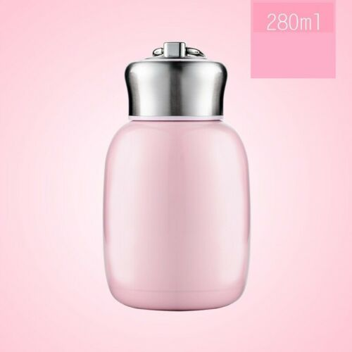 Cute Mini Stainless Steel Thermos Vacuum Thermal Milk Tea Water Insulated Bottle
