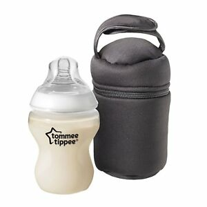 Details about New Tommee Tippee Insulated Bottle Bags Twin pack Excellent  Thermal Properties