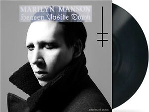 MARILYN-MANSON-LP-Heaven-Upside-Down-180g-VINYL-DOWNLOADS-Lyrics-Inner-NEW