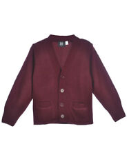 Kids Navy Blue Sweater V-Neck Cardigan French Toast School Uniform XS to XXL