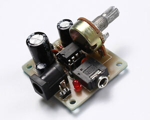 DIY-Kit-3V-12V-LM386-Super-MINI-Amplifier-Board-Power-Electronic-Suit-UK