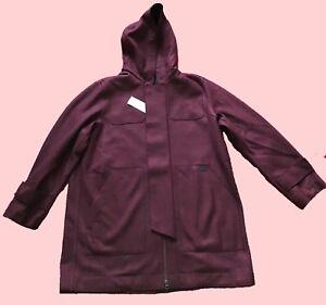 Hooded Wool Xl Guaranteed 54 Bn Vermouthmarine Lacoste Size Parka RzU5Oq7w