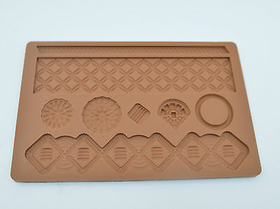 Baroque Macrame Silicone Fondant Mould Xmas Birthday Wedding Cake **REDUCED**