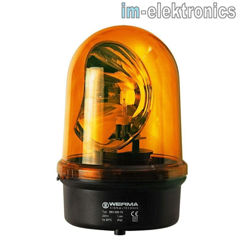 Lámpara Faro Amarillo Werma 883 Bm 230V AC Ye 883.300.68