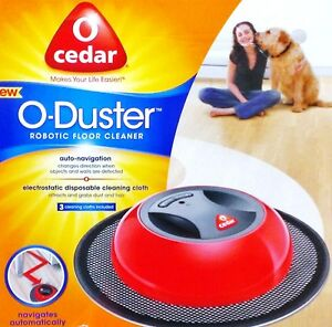 o cedar ocedar o duster robotic automatic rotating mop floor cleaner new ebay. Black Bedroom Furniture Sets. Home Design Ideas