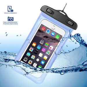 new style a3a5f f56d6 Details about Waterproof Carrying Cellphone Pouch Touchscreen Neck Strap  For Huawei Mate SE
