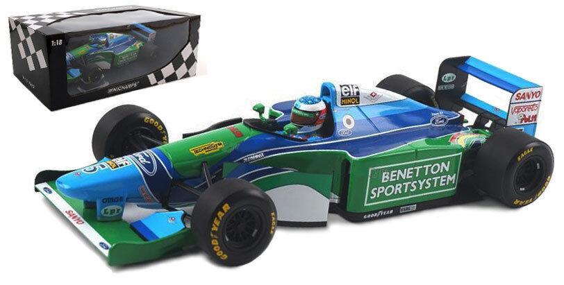 MINICHAMPS BENETTON B194 Winner Brazil GP 1994-Michael Schumacher 1 18 Scale
