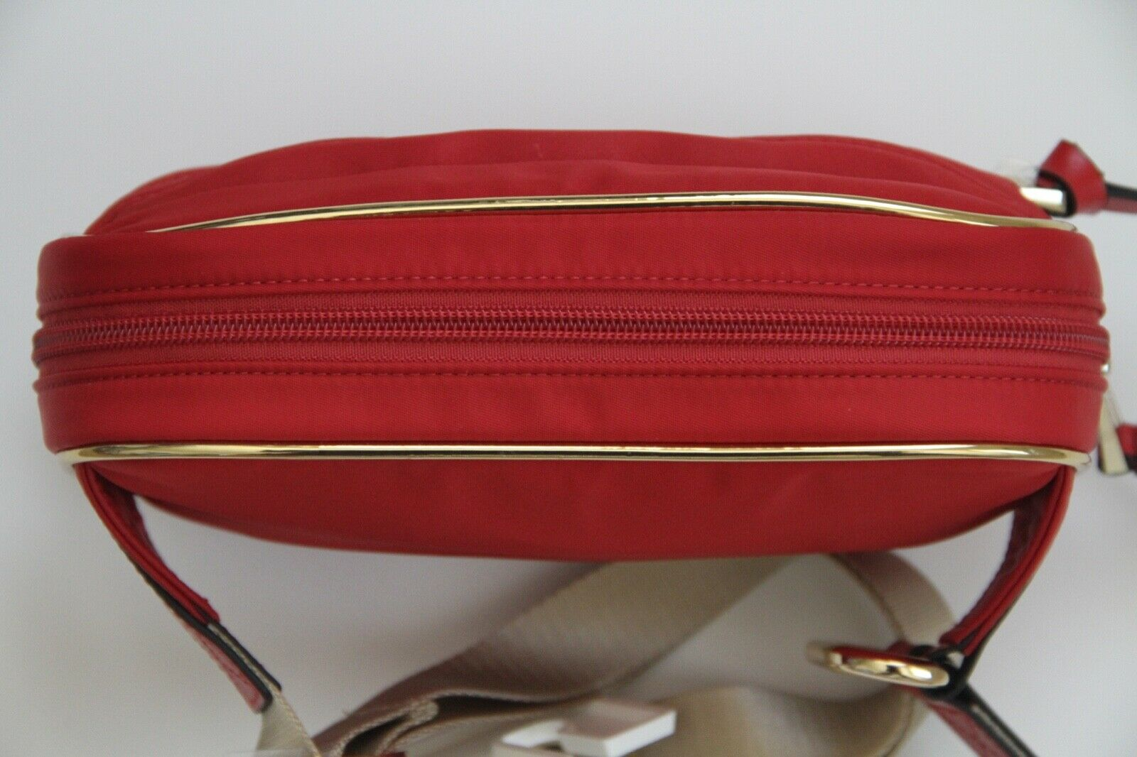 Save The Bees Messenger Bag Red 38x33x11cm