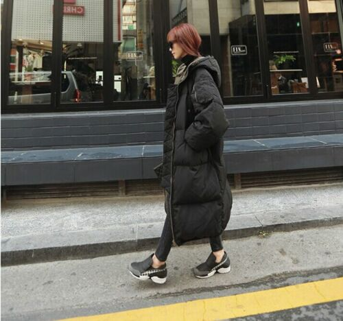 Coat Casual Long Women Outwear Loose Parka Overcoat Oversize Winter Down Hood AwwPtqf
