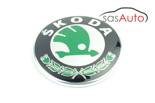 Brand New Genuine Skoda Badge Emblem 3U0853621B