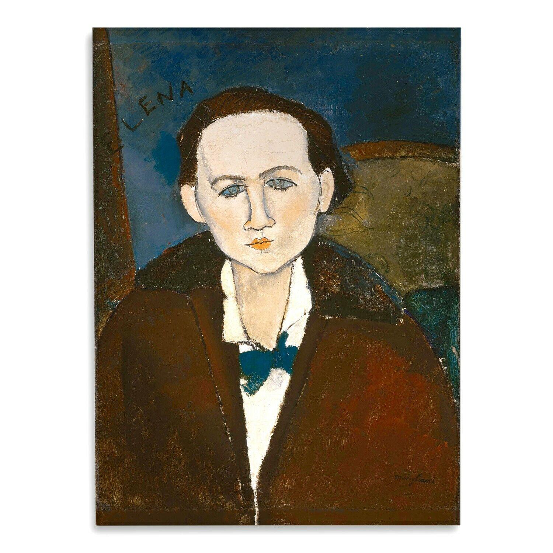 Vetro Acrilico  - Amedeo Modigliani - Ritratto di Elena - Stampa fine art – Pron