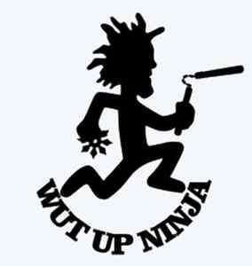 wut up ninja juggalo icp hatchetman insane clown posse twiztid abk