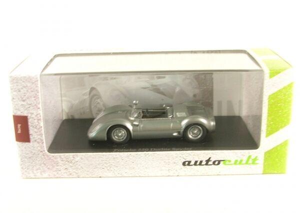 PORSCHE 550 durlite SPYDER (silver) 1959