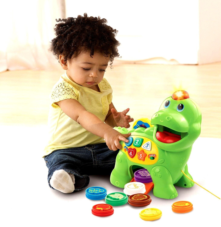 VTech Chomp & Count Dino Dinosaur Toy Kid Baby Toddler ...