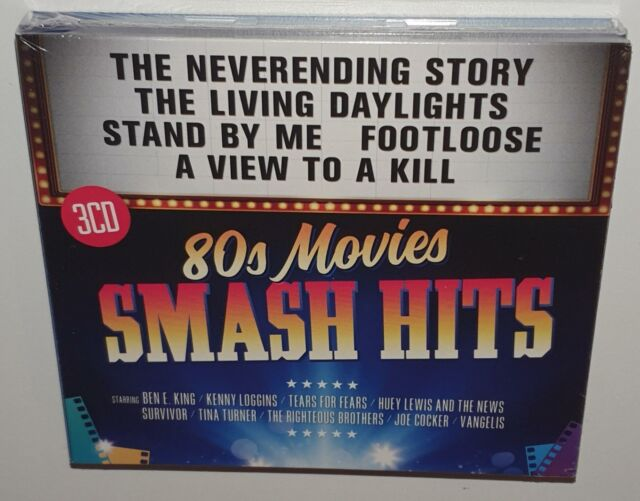 VA SMASH HITS 80s MOVIES (2017) BRAND NEW SEALED 3CD SET KENNY LOGGINS