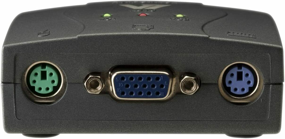 V7 KVM Switch - Control 2 PC's from 1 x Monitor, Keyboard & Mouse