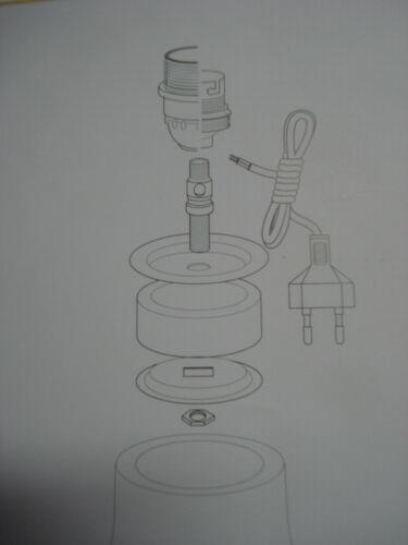potiche en caoutchouc et laiton 1 adaptateur 65 mm extensible pour vase