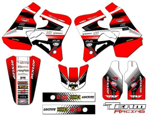 1995-1996 HONDA CR 250 R GRAPHICS KIT DECALS STICKERS MX DECO CR250 CR250R