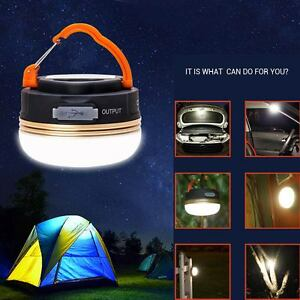 3w led usb rechargeable camping outdoor light lantern tent lamp 6 image is loading 3w led usb rechargeable camping outdoor light lantern aloadofball Images