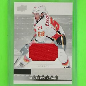 OLIVER-KYLINGTON-2016-17-ROOKIE-PREMIERE-JERSEY-034-R19-Calgary-Flames