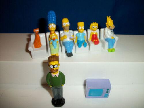 MARGE /& MAGGIE SIMPSONS PANINI Figure ITALIAN Premium on COUCH Simpson Figurine